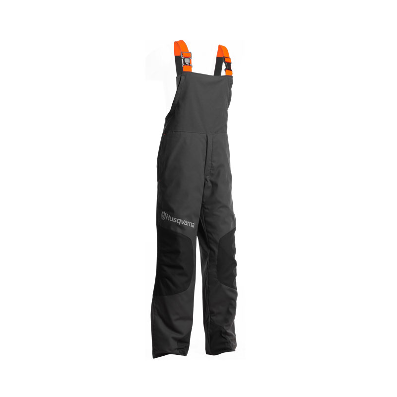 Gozdarske zaščitne hlače z naramnicami Classic Husqvarna