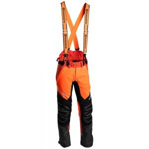 Gozdarske protivrezne hlače Husqvarna Technical Extreme z naramnicami