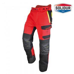 Solidur Infinity gozdarske hlače razred 1