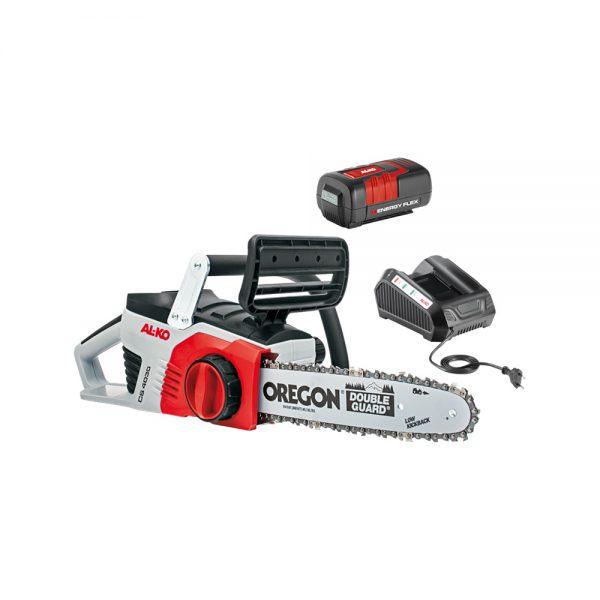 AL-KO CS4030 akumulatorska verižna žaga s polnilcem in baterijo